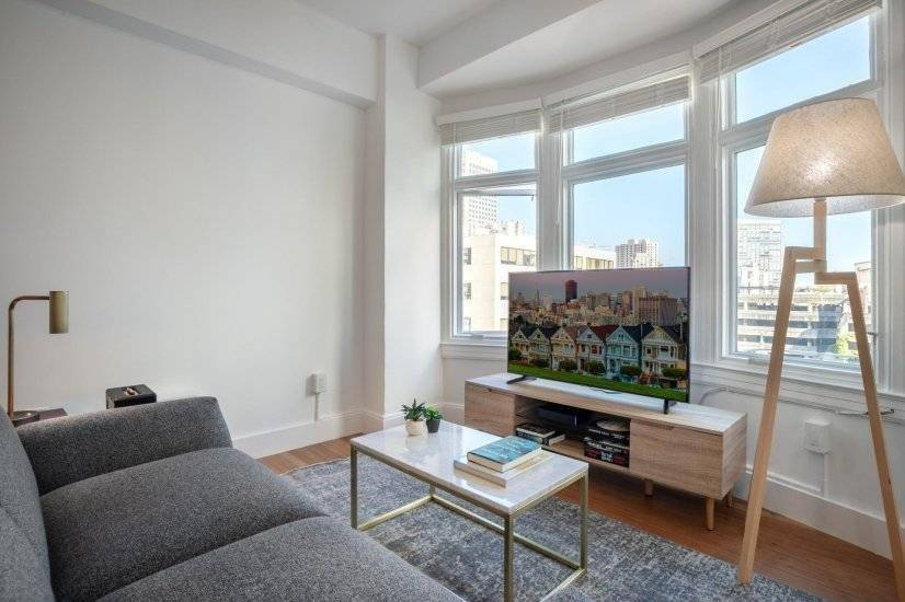 Furnished, Lux Nob Hill 1BR w/ W/D
