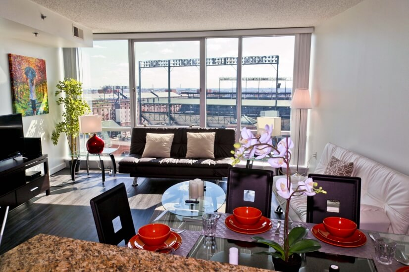 Fully furnished corporate housing Downtown Baltimore