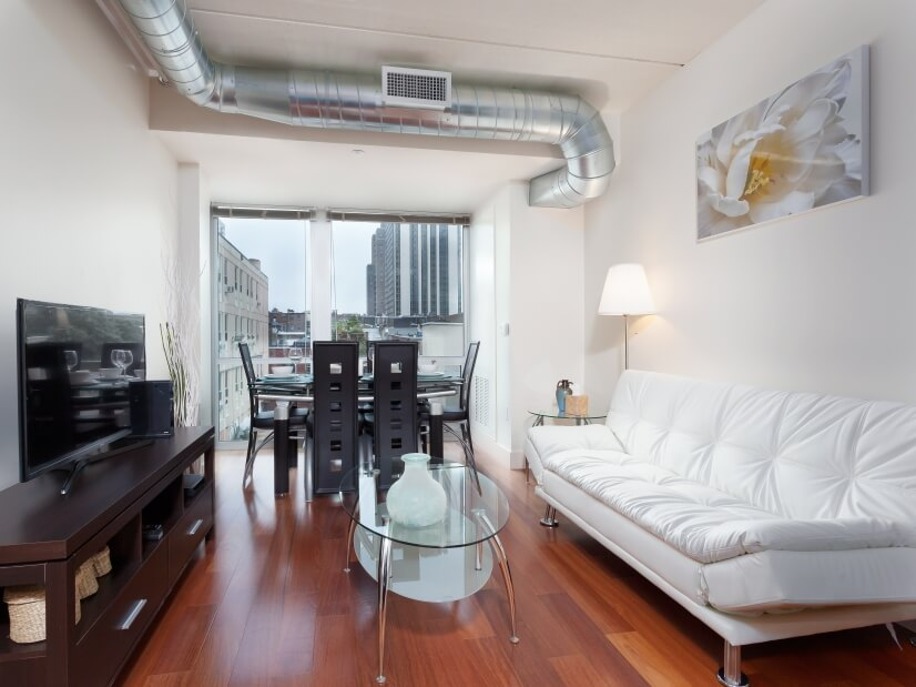 Furnished Apt in heart of the city