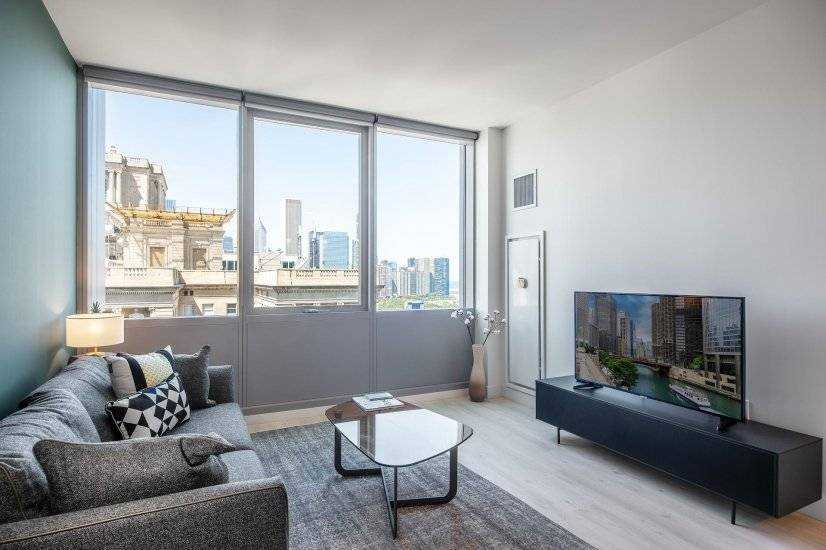 Furnished Lovely South Loop 1BR w/ Gym