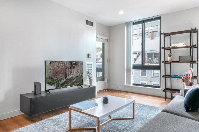 Furnished, Ample North End 2BR w/ Gym