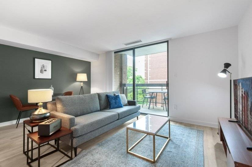 Modern Foggy Bottom 1BR w/ W/D  Gym