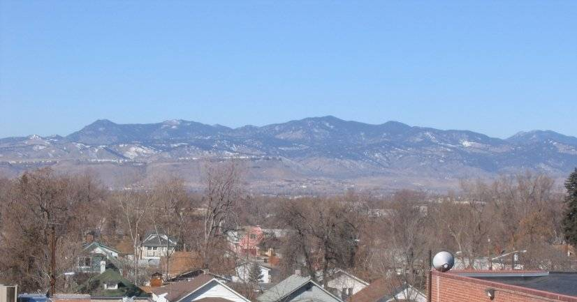 Furnished Denver Penthouse Mountain view