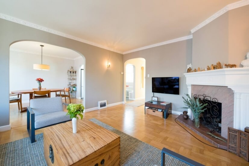 Beautiful Mission Dolores 3-bdrm with