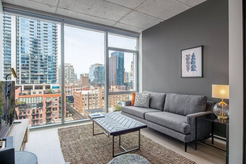 Rad River North 1BR w/ Gym, Pool and W/D
