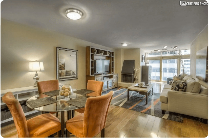 Upscale Furnished corporate rental LoDo