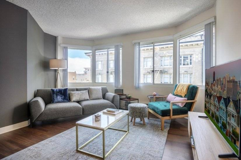 Charming Lower Nob Hill 1BR w/ Gym