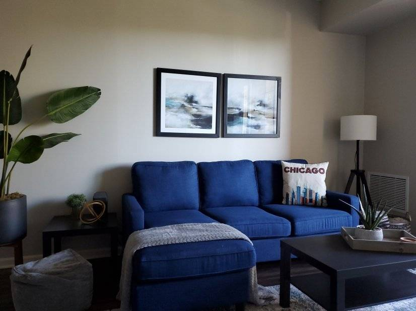 Modern, Large Furnished 1 Bdrm APT