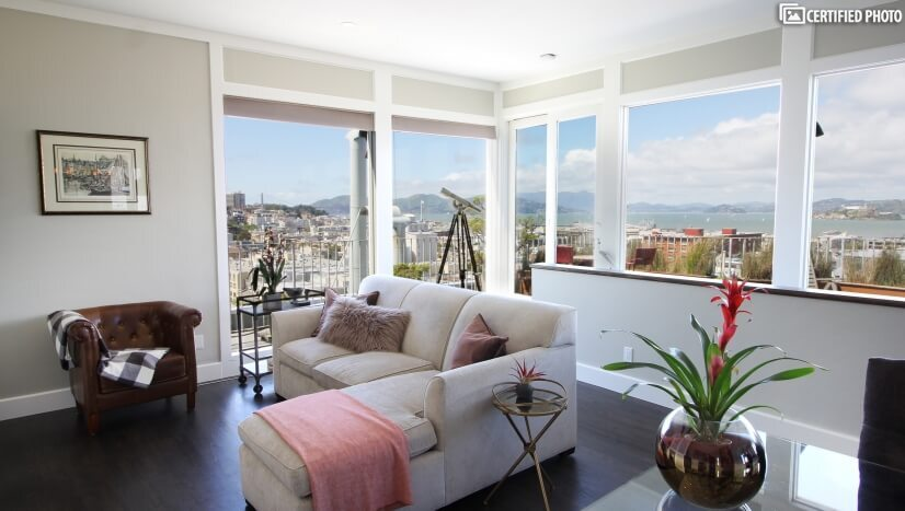 Upscale Home in SF with Spectacular View