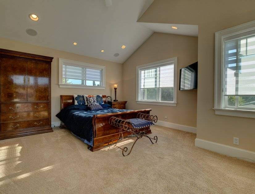 Great light and airy master bedroom