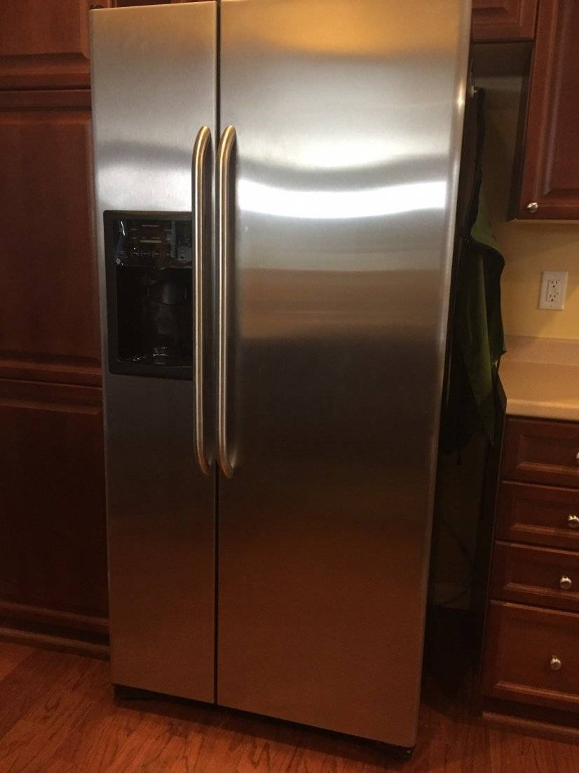 Spotless stainless steel appliances