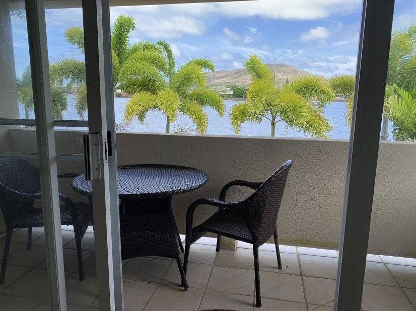 Breezy waterfront furnished duplex