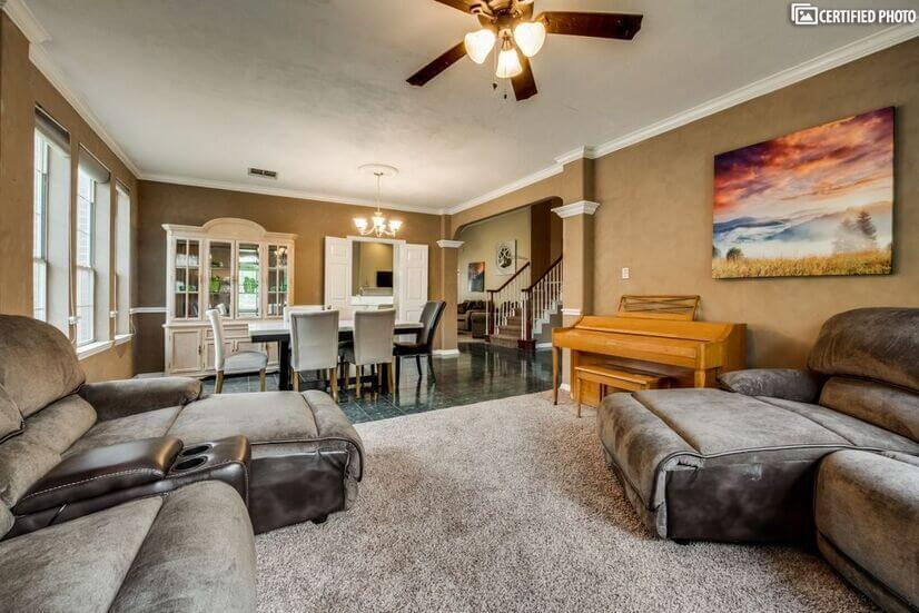 All new furniture home,open concept, spacious
