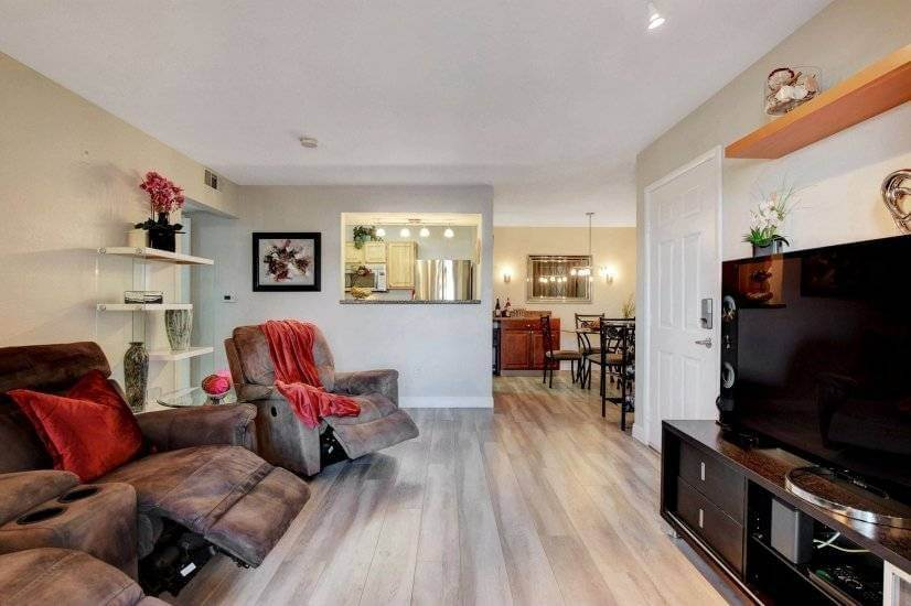 Spacious Living Area With All The Comforts of...