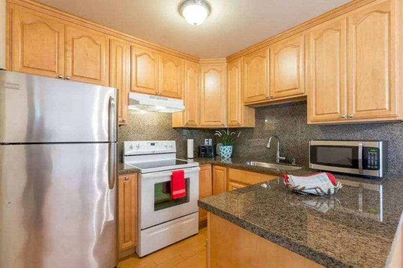 Light filled, remodeled 2BR/2BA Mtn View