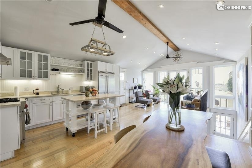High-End Furnished Bernal Heights Home