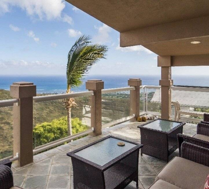 Fully Furnished Honolulu Ocean View Home
