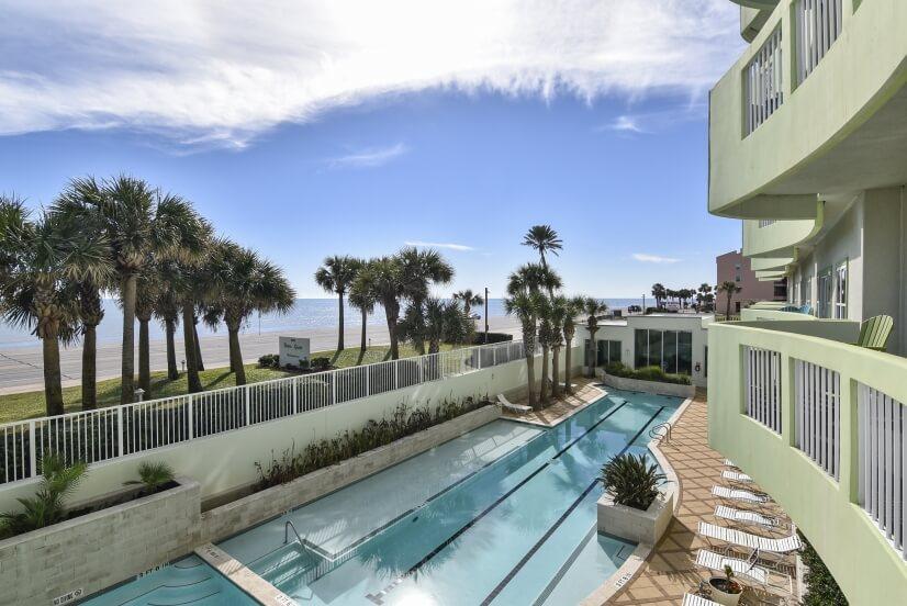 100-Foot Outdoor Community Pool