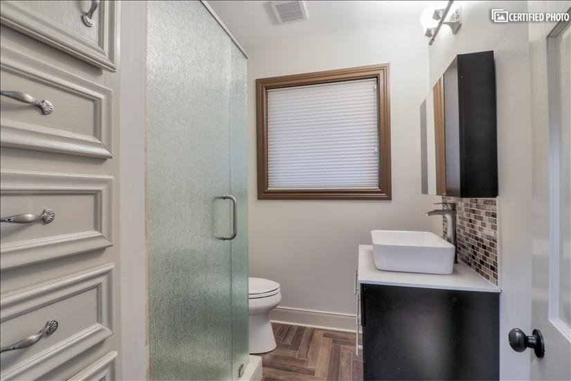 Bathroom - for third bedroom and guests.