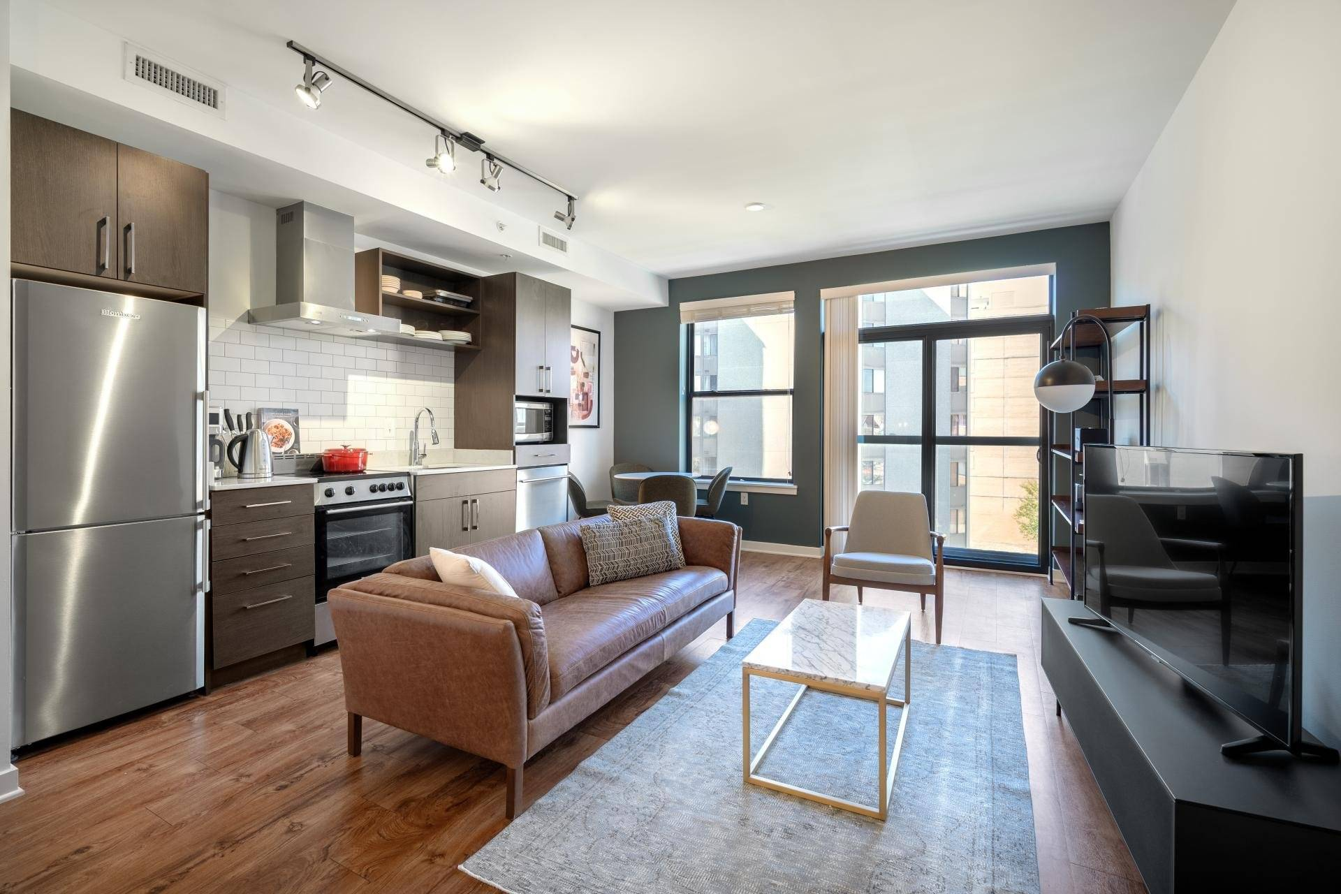 Mount Vernon 1BR w/ Gym, Rooftop & W/D