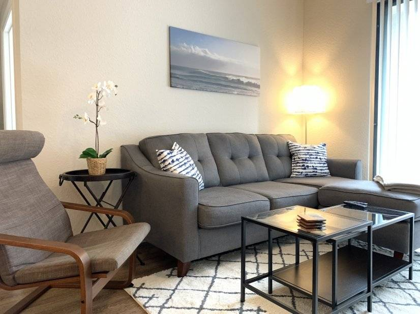 Fully Furnished Apt - Ready for Move in