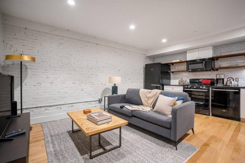 Furnished, Walkable North End 2BR w/ W/D