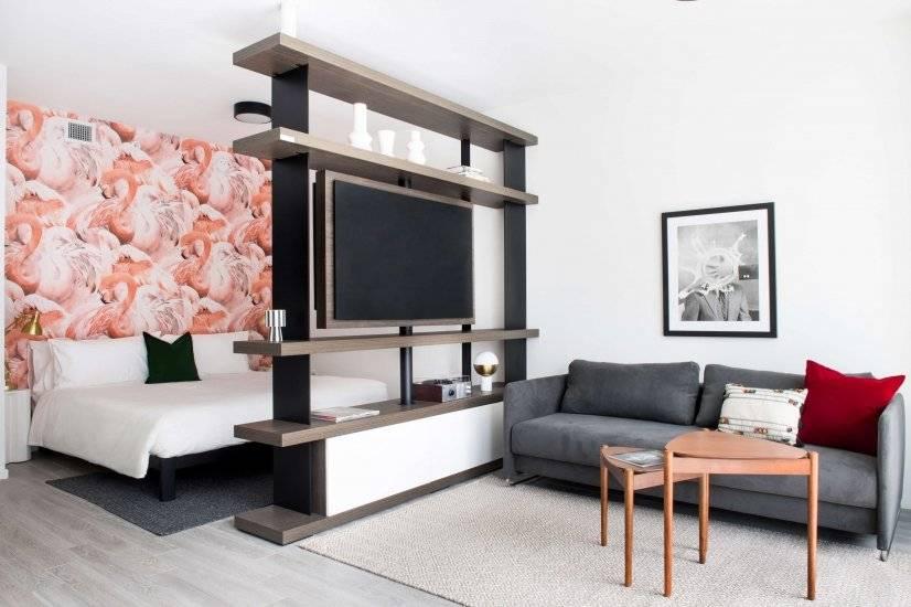 Studio, King Bed, sleeper sofa