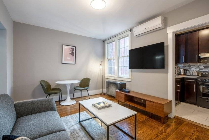 Furnished Lux Dupont Circle 1BR w/ A/C