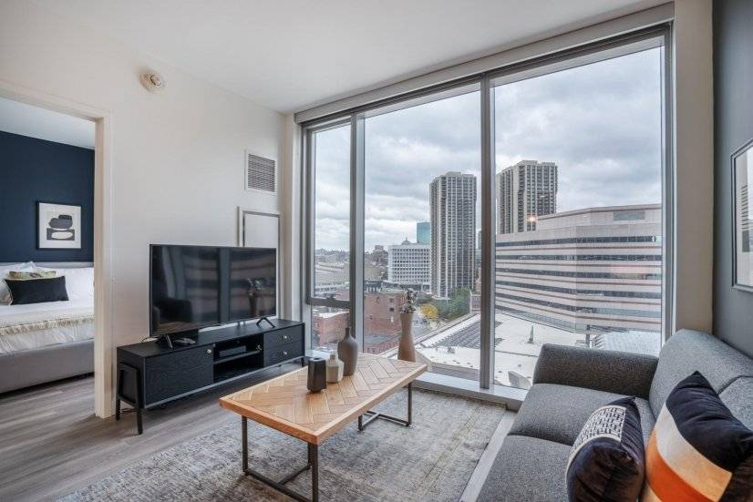 Furnished, Smart North End 1BR w/ W/D