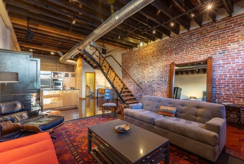 Striking Three Story Downtown Loft