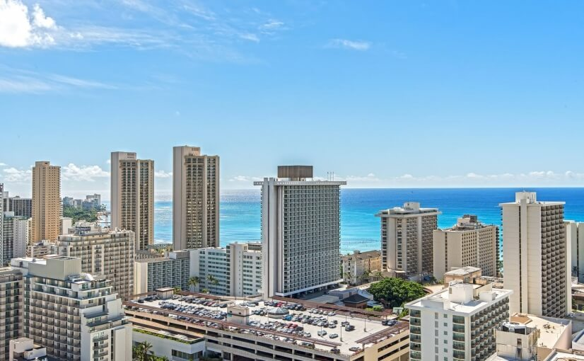 Furnished Waikiki Condo W/ Great Views