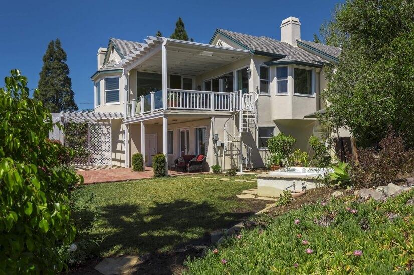 Furnished Santa Barbara Home Ocean View