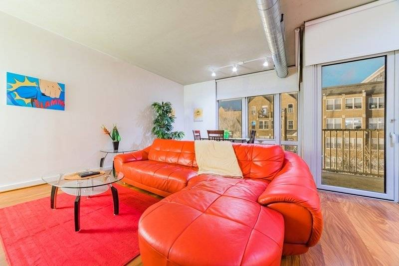 Furnished 1 bedroom w/balcony U St