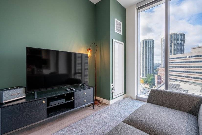 Furnished, North End Studio w/ Doorman