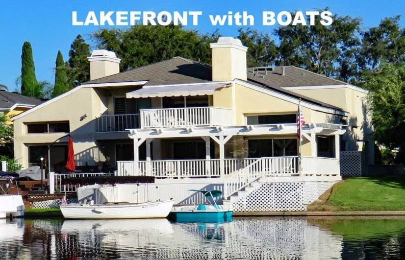 3 BR, 2.5 BA, 2100 SF, LAKE HOUSE & BOAT