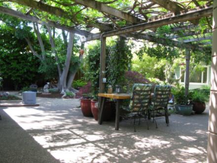 Living room is full of light