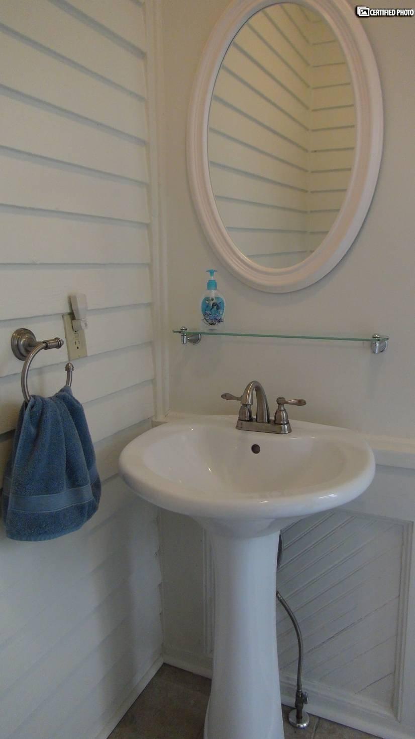 Half Bath Pedastal Sink