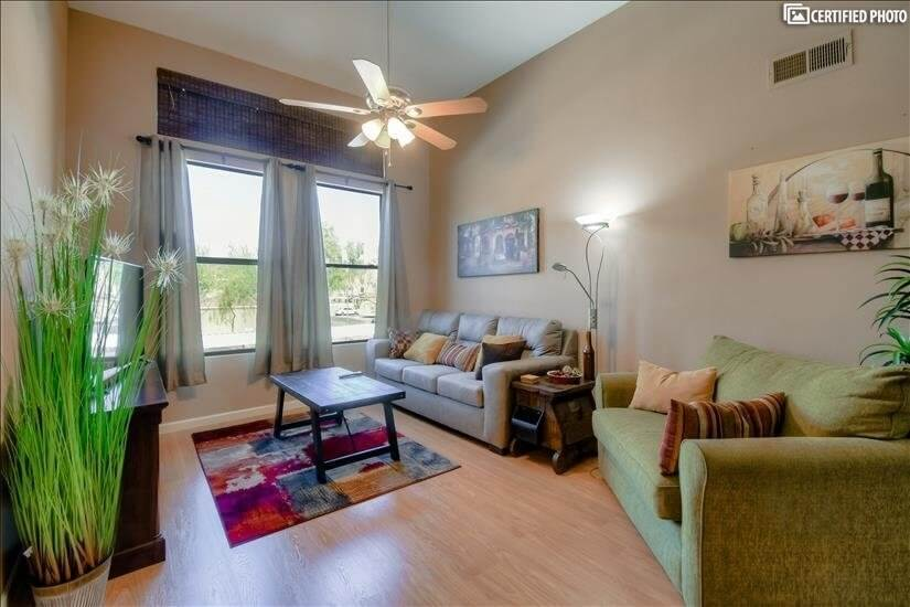 Fully Furnished Two Bedroom Condo in North Scottsdale