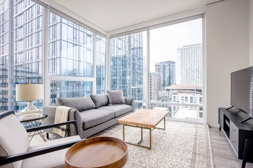 Smart South Lake Union 2BR w/Gym,Rooftop