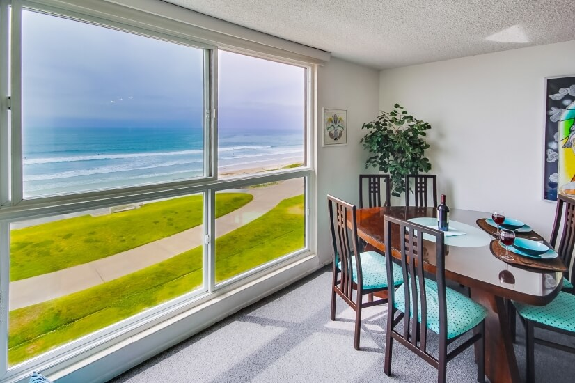 View of ocean from Unit