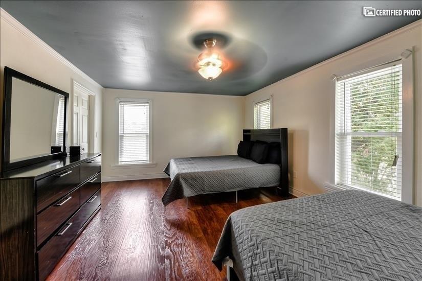 Upstairs Master Bedroom - Two Queen Beds