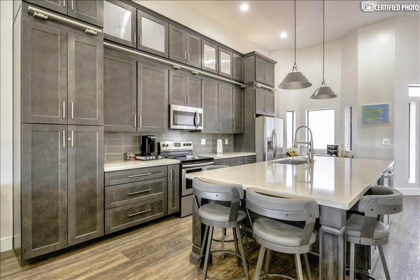 Designer high end kitchen