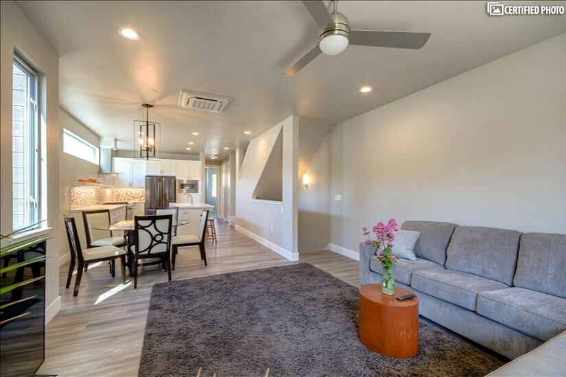 New Sacramento Home with Beautiful Rooftop Vi