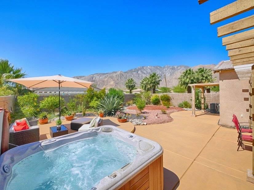 Palm Springs Mountain Vista Home