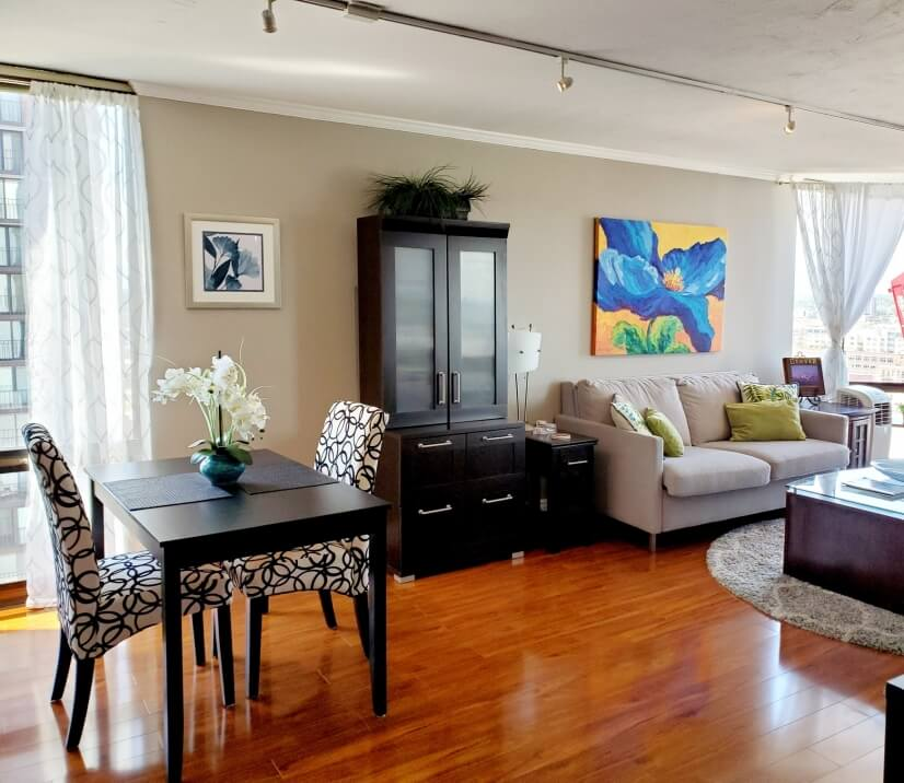 FURNISHED Downtown Denver 2 BR w/Views