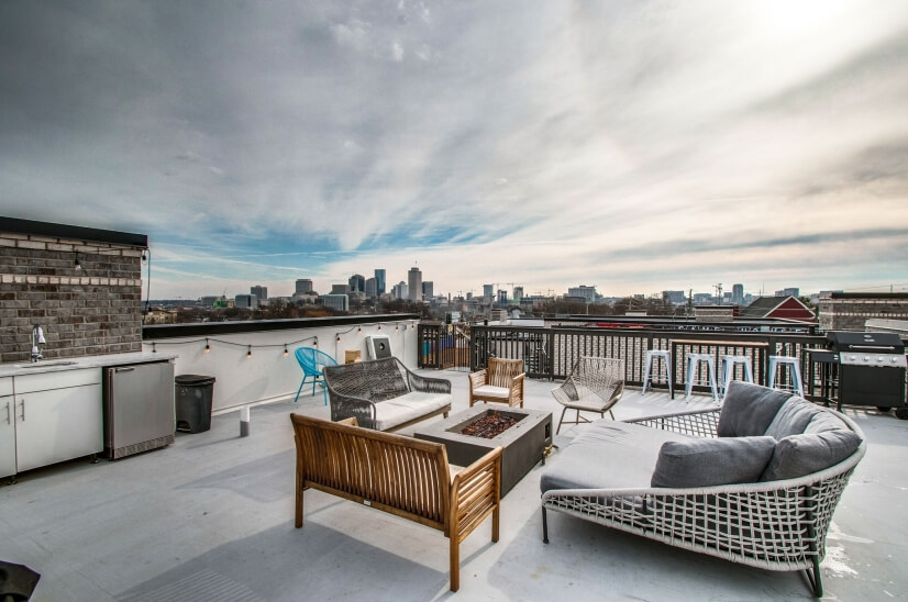 3BR Luxury Townhome, Rooftop, 1.5m to DT