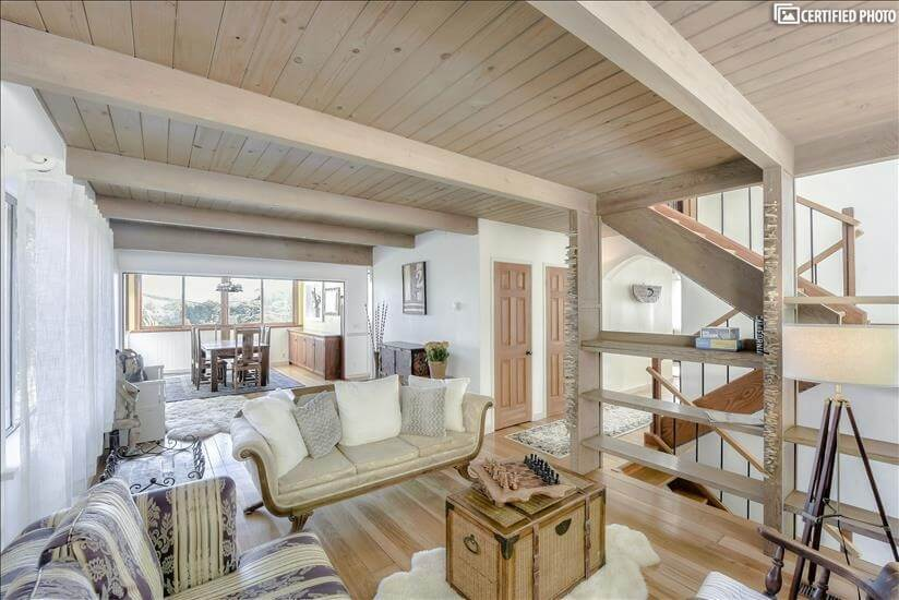 View, Furnished House in Sausalito