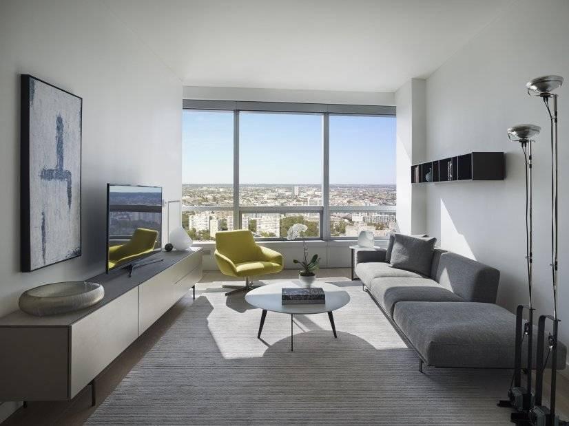 One-bedroom living area