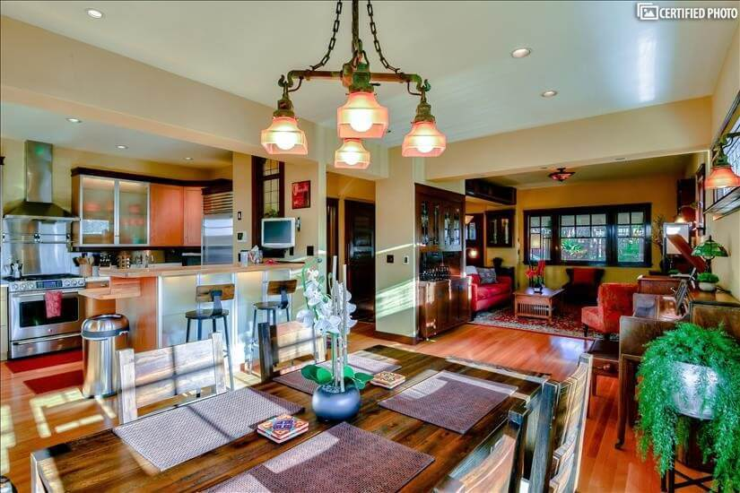Beautifully Furnished Queen Anne Home