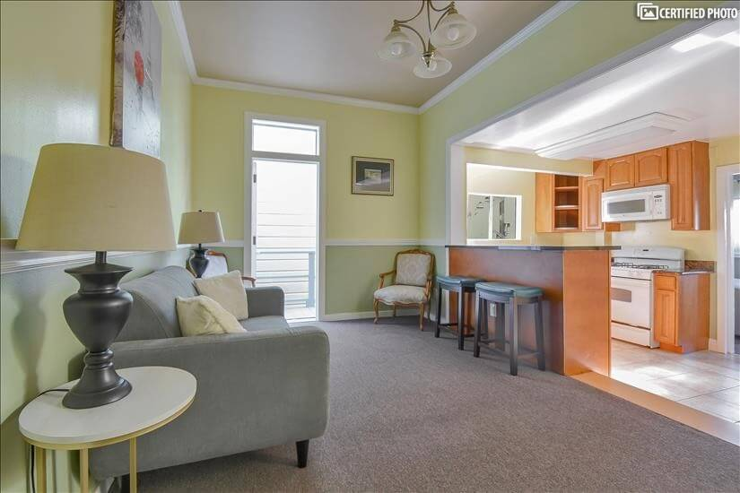 Mission District Furnished 2 Bedroom